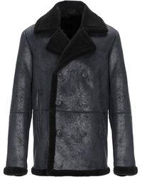 Trussardi Coat - Blue