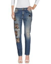 Amen - Denim Trousers - Lyst