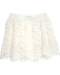 Red Soul Mini Skirt