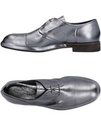 Roberto Del Carlo Lace-up Shoe - Gray