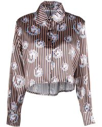 MNML Couture - Blouse - Lyst