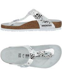 Birkenstock - Toe Post Sandal - Lyst
