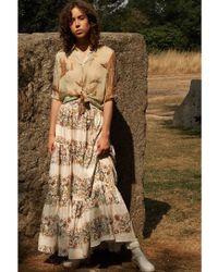 Klements - The Somerleyton Skirt. Mermaid Print - Lyst