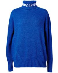 J.won - Le Week-end' Cashmere Roll-neck Jumper - Lyst