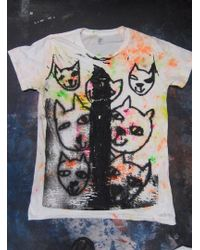 Simeon Farrar - Colour Cats Tee - Lyst