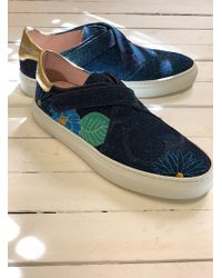 Camilla Elphick - Heart And Soul Trainer In Disco Blue Orchid - Lyst