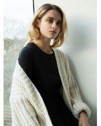 Kelly Love - Ivory Hand Knit Cardigan- Last One - Lyst
