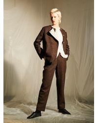 Renli Su - Harris Tweed & Japanese Cotton Jacket - Lyst