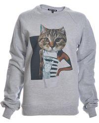 Simeon Farrar - Asap Pu$$y Cat Sweatshirt - Lyst