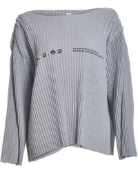 Faustine Steinmetz - Grey Pleated Jumper - Sold Out - Lyst