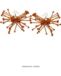 Kirsty Ward - Orange Cluster Earrings- Sold Out - Lyst