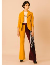 Rockins | Classic Sunny Velvet Blazer | Lyst