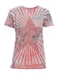 Simeon Farrar - Red Star Tee - Last One - Lyst