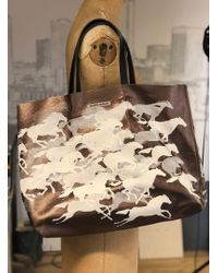 Simeon Farrar - Leather Wild Horses Bag - Lyst