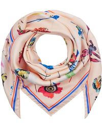 Klements - Large Silk Scarf In Floral Explosion - Lyst
