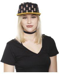 Qilo - Black Pineapple Cap - Lyst