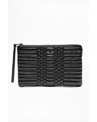Zadig & Voltaire - Uma Scales Clutch - Lyst