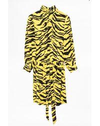 Zadig & Voltaire - Dress Rival Tigre - Lyst