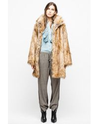 Zadig & Voltaire - Manteau fury - Lyst