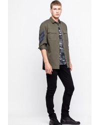 Zadig & Voltaire - Chemise simon army - Lyst