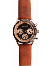 Zadig & Voltaire - Master Brown 36 Watch - Lyst