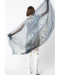 Zadig & Voltaire - Foulard merry wings - Lyst