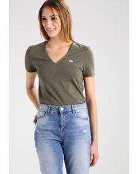 Lacoste | Slim Fit Tf8908 Basic T-shirt | Lyst