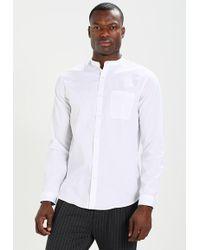 12837294b Lyst - Lindbergh Long Sleeve Detailed Shirt in Black for Men