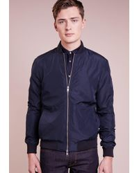 18bc6e6ee Lyst - J.lindeberg Thom Bomber Jacket in Black for Men