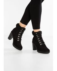 New Look Wide Fit WIDE FIT COOLITA - Ankle boots - black EGIEo1IO