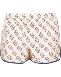 Gucci - Interlocking GG Print Nylon Swim Shorts - Lyst