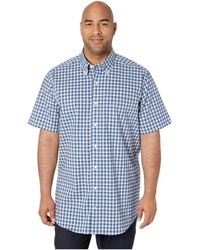 2c1a34dc24b365 Ben Sherman Short Sleeve Record Print Woven Ma12409a in Blue for Men - Lyst