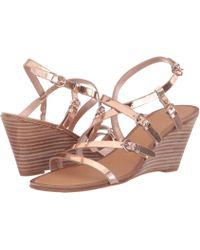0c03a7625ef3 Sigerson Morrison - Maia (white Vachetta) Women s Sandals - Lyst