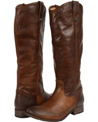 Frye - Melissa Button Boot Extended - Lyst
