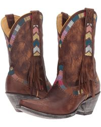 Old Gringo - Persefone (bone) Cowboy Boots - Lyst