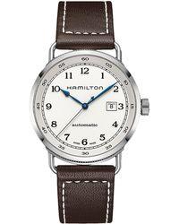 Hamilton - Khaki Navy Pioneer - H77715553 (silver) Watches - Lyst
