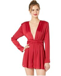 Astr - Friday Romper (pink Pout) Women's Jumpsuit & Rompers One Piece - Lyst
