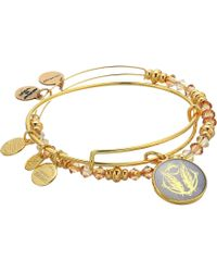 ALEX AND ANI - Art Infusion Bracelet Set, Godspeed - Lyst