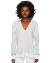 Three Dots - Beach Terry Hoodie - Lyst