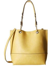 a7b982d2b09b Calvin Klein - Sonoma Morris Pu Tote (past Yellow cashew) Tote Handbags -