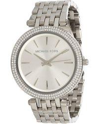 b12a5b98864f Michael Kors - Mk3190 - Darci (silver) Watches - Lyst