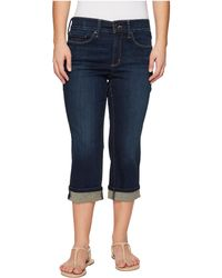NYDJ - Petite Marilyn Crop Cuff In Bezel (bezel) Women's Jeans - Lyst