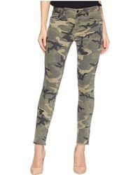 Miss Me - Five-pocket Ankle Skinny Jeans In Camo Green (camo Green) Women's Jeans - Lyst