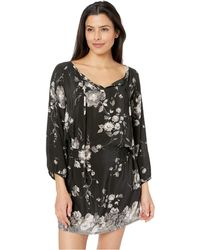 Tolani - Eva Tunic Dress (sable) Women's Dress - Lyst