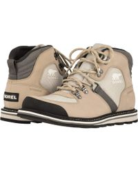 Sorel - Madsontm Sport Hiker Waterproof (mud) Men's Lace-up Boots - Lyst