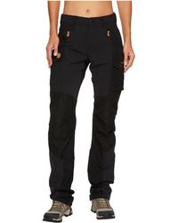 Fjallraven - Nikka Curved Trousers (black) Women's Casual Pants - Lyst