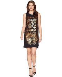 Versace Jeans - Foil Print Sleeveless Dress (nero) Women's Dress - Lyst
