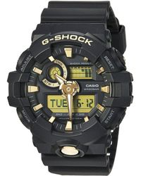 G-Shock - Ga710b-1a9 (black/gold) Watches - Lyst