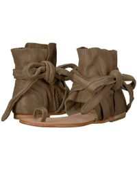e930c9cbe35 Free People - Delaney Boot Sandal (taupe) Women s Shoes - Lyst