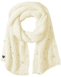 Betsey Johnson - Pearl Jam Muffler (blush) Scarves - Lyst